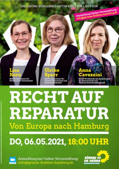 """""""Recht auf Reparatur - Von Europa nach Hamburg"""""""