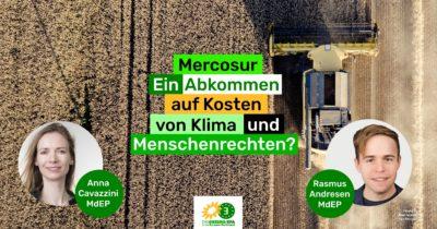 Diskussion zu MERCOSUR. Mit Rasmus Andresen @ Flensburg
