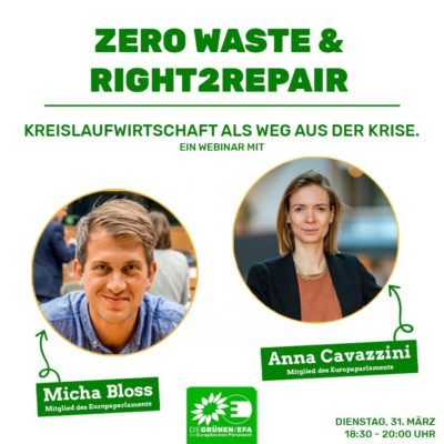 Webinar: Zero Waste & Right2Repair @ Go To Webinar