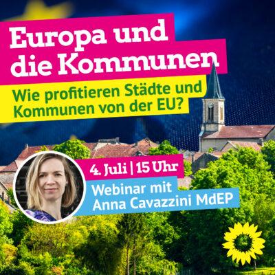 """Webinar mit GRÜNEN Sachsen-Anhalt: """"Europa und die Kommunen"""" - Wie profitieren Städte und Kommunen von der EU? @ https://us02web.zoom.us/j/82765306829?pwd=QmwvZkJURXF4OHNRcWlxSG51T3IvZz09"""